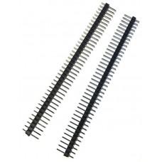 Разъем однорядный штыревой, 40-pin