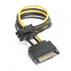 Переходник SATA на 6-pin для видеокарты
