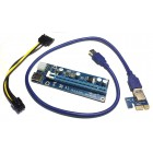 THV Адаптер RiserCard PCI Express 1x to 16x