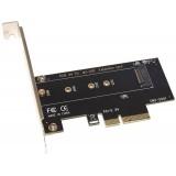 Контроллер PCI-E x4 для дисков SSD NVME