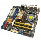 Материнская плата Asus P5QPL-VM, LGA 775, microATX, б/у