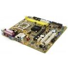 Материнская плата Asus P5VD2-MX, LGA 775, microATX, б/у