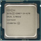 Процессор Intel Core i3-4170, LGA 1150, 3.7 ГГц, б/у