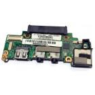 Плата аудио, USB и LAN для Asus 1008HA, б/у