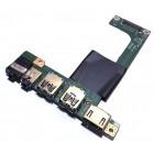 Плата аудио, USB и HDMI для MSI CR61, CX61, б/у