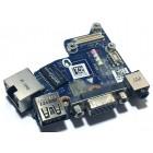 Плата аудио, USB, VGA и LAN для Dell E6430, б/у