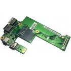 Плата питания, LAN, USB для Dell N5010, б/у