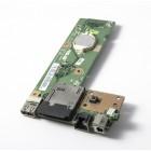 Плата питания, кнопка включения, картридер и USB для Asus A52, K52, PRO5L, б/у