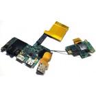 Платы USB, аудио, LAN и сим-карты для Sony VPCZ, VPCZ2, б/у