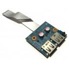 Плата USB для HP dv6-6000, б/у