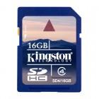 Карта памяти SDHC Kingston SD4/16GB, класс 4, 16 Гб