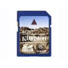 Карта памяти SDHC Kingston SD6/8GB, класс 6, 8 Гб