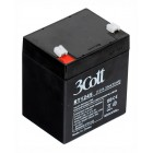 Аккумулятор для ИБП 3Cott 12 V, 4.5 Ah